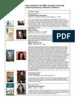 0910 Millors llibres 2009 Faristol