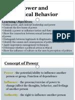 Power Influence