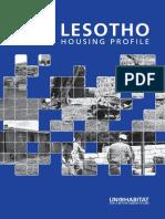 Lesotho Urban Housing Profile
