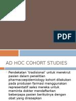 Ad Hoc Cohort Studies