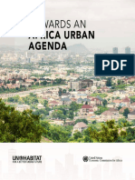 Towards an Africa Urban Agenda