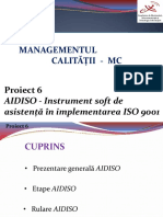 Implementare Iso 9001