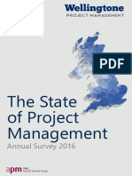 The State of Project Management Survey 2016