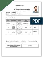 Resume Rajesh Aggarwal Tcs