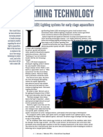 FISH FARMING TECHNOLOGY - Light Emitting Diode (LED) Lighting systems for early stage aquaculture