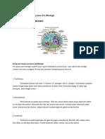 Komponen Kimia Penyusun Sel