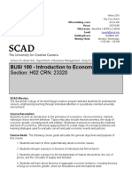 SCAD 2016 Economics Syllabus Foundations Studies