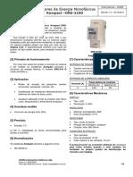 K0063 - Medidores de Energia Monofásicos Kompact DRS-210D (Rev 1.1)