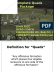 John Rice - A Complete Quads Package