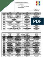 Examene Sesiunea de Iarnă 2015