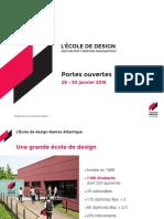 Présentation de L'École de design Nantes Atlantique
