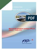 Manuel de Formation Pratique PPL Ed1 Juillet 2013