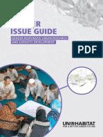 Gender Responsive Urban Research and Capacity Development