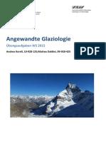 Semesterübung Angewandte Glaziologie Korell Daldini