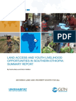 Land Access and Youth Livelihood Opportunities in Southern Ethiopia