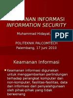 Sim Keamanan Informasi