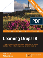 Learning Drupal 8 - Sample Chapter