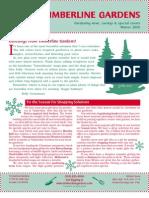 Timberline Winter 2005 Newsletter