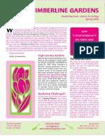 Timberline Spring 2006 Newsletter