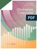 Development Cooperation Report 2012-2014