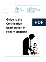 Guide to the Certification Examination in Family Medicine
