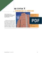 Construção Argamassa Única X Chapisco, Emboço e Reboco