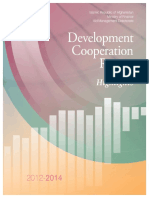 Development Cooperation Report 2012-2014 Highlights