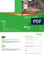 BAMnuttall Guidance for Contractors Booklet
