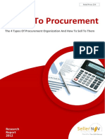 The 4 Procurement Styles