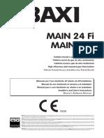 BAXI Main 2 - Manual