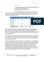 The Soter Group - NFL vs Government Sales - A Quarterly Analysis (February 2016)