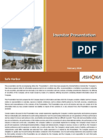 Investor Presentation-February 2016 [Company Update]