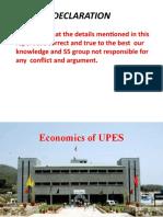 Upes Economics