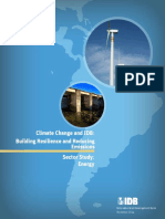 Climate Change and IDB
