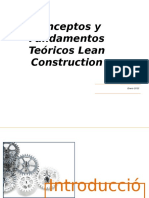 1 y 2 Fundamentos Teóricos de Lean Construction UPC