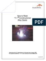How to Weld T-1 Steel