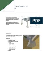 Elementos Estructurales en Edificaciones