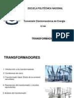 Transformadores - Clases Conversión Electromecánica de Energía
