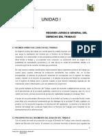 Dertrabajo-i-01 - Regimen Juridico General Del Derecho Del Trabajo