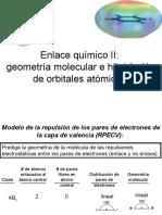 Enlace Quimico II Geometría Molecular