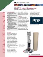CE Model 278 UGC Densitometer