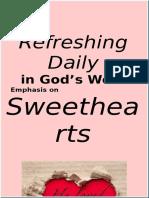 Sweethearts February 2016