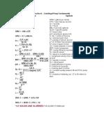 Centrifugal Pump Formula