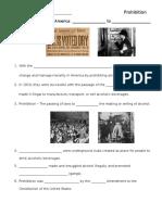 Prohibition Nearpod Notes