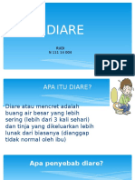 Health Education (Diare)
