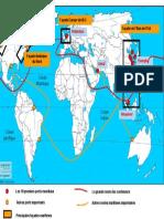 CARTE Routes Maritimes