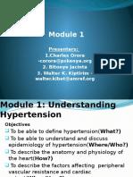 Hypertenion Epidemiology