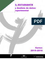 Disenos y Analisis de Datos 2015 2016