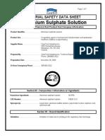 Alum Sulphate Liq