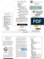Opusculo Programa de Educacion en Mercadeo 2015